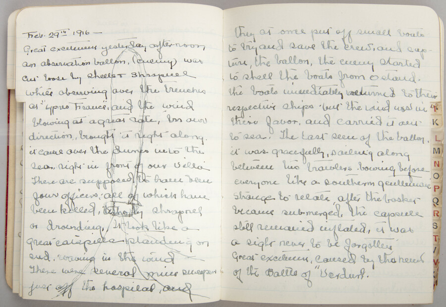 February 29 1916 entry