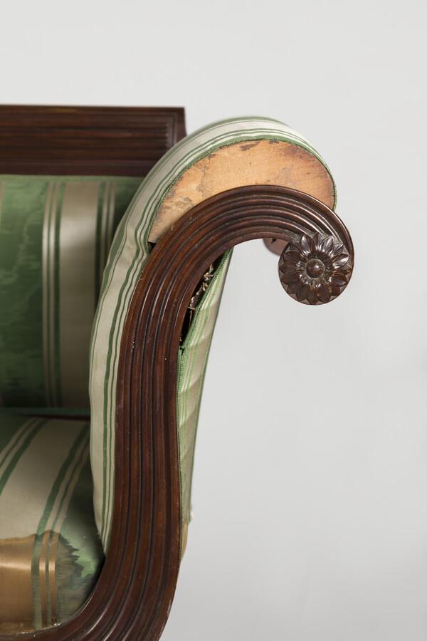 Arm detail view.